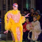 David Ferreira catwalk collection at London Fashion Week SS17