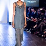 Omar Mansoor fashion catwalk at Oxford Fashion Week