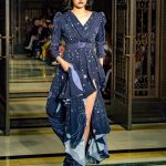 London Fashion Week AW18 catwalk collection by designer Dalia El ALi label DEEBYDALIA from DDFC