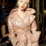 LFW SS18 fashion by Pam Hogg, model Ellie Rae Winstone, photo Barry Green