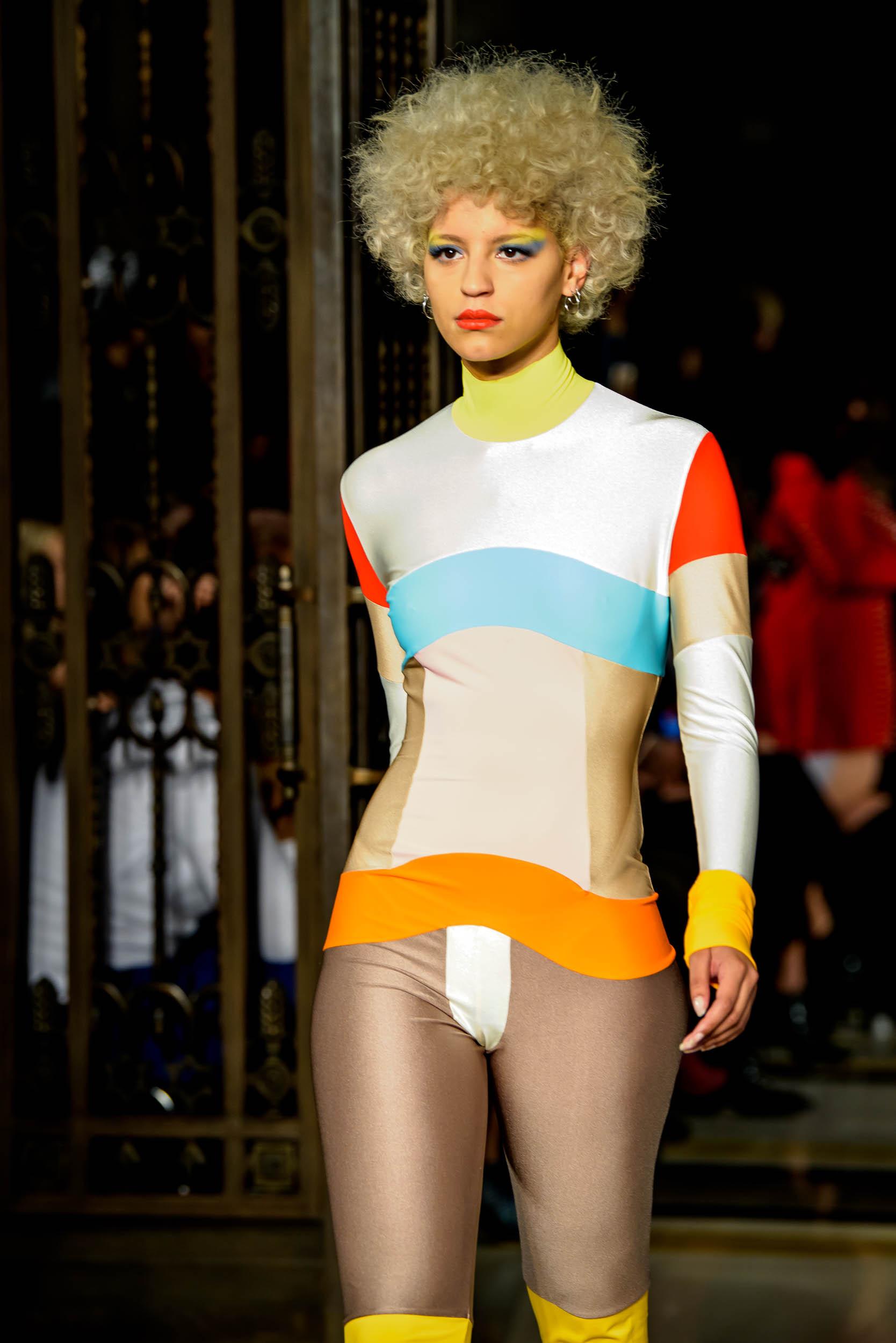 London Fashion Week S/S18 fashion by Pam Hogg photo Barry Green