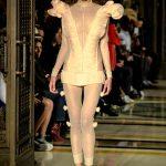 LFW SS18 fashion by Pam Hogg, model Helene Selam Kleih, photo Barry Green