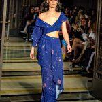 London Fashion Week AW18 catwalk collection by designer Dalia El ALi label DEEBYDALIA from DDFC